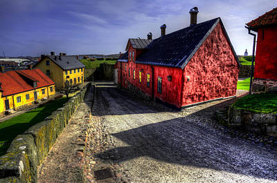 Old Buildings In Hdr Original by Toppart Sweden