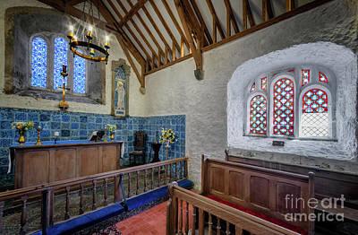 Beam Digital Art - Old Chapel by Adrian Evans