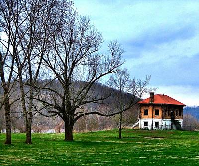 Photograph - Old Leavenworth Indiana by Julie Dant