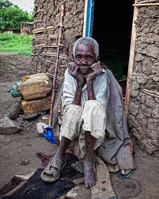 Old Man Africa Print by Jennifer K