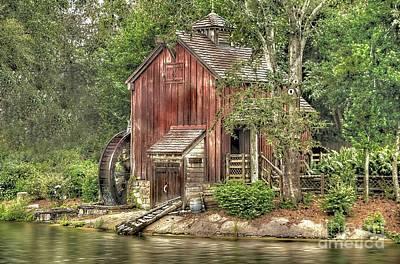 Old Mill Original by Arnie Goldstein