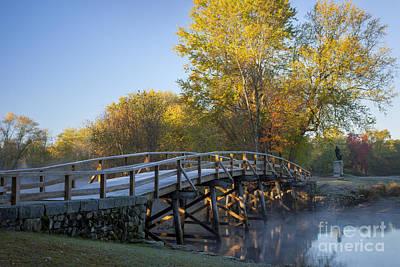 Old North Bridge Print by Brian Jannsen