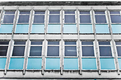90s Photograph - Old Office Building by Tom Gowanlock
