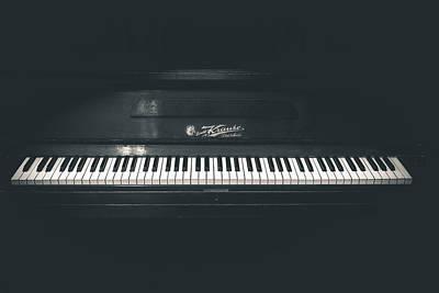 Photograph - Old Piano by Sotiris Filippou