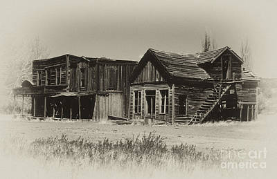 Old West Photograph - Once Upon A Time by Sandra Bronstein