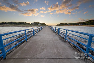 Beach Photograph - Onekama Pier by Twenty Two North Photography