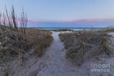Beach Photograph - Onekama Shoreline by Twenty Two North Photography