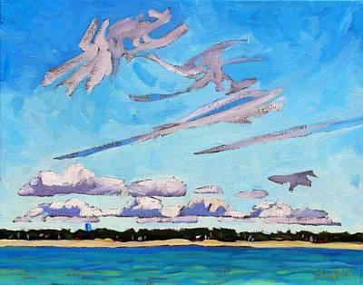 Southampton Lake Breeze Cu Print by Phil Chadwick