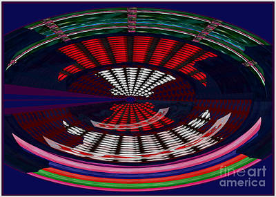 Rights Manages Images Painting - Opposit Arc Pattern Abstract Digital Graphic Art Interior Decorations Buy Painting Print Poster Pill by Navin Joshi