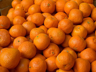 Oranges For Sale In The Souk, Fes Print by Panoramic Images