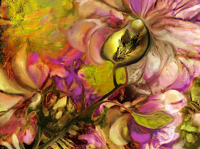 Orchids Mixed Media - Orchid by Anne Weirich