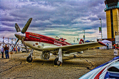 Photograph - P-51d Mustang Unlimited Air Racer Strega by Tommy Anderson
