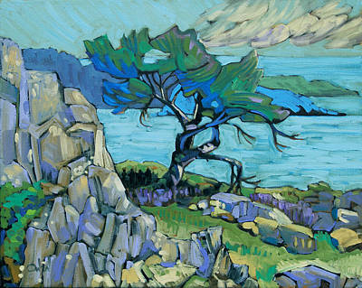 An Island Painting - Pacific 4 by Rob Owen