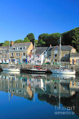 Padstow Print by Carl Whitfield