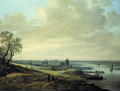 Road Painting - Panorama Landscape With A View Of Arnheim by Jan van Goyen