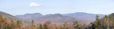 Panoramic View Of Crawford Notch State Print by Panoramic Images