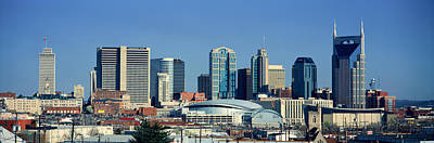 Panoramic View Of Nashville, Tennessee Print by Panoramic Images