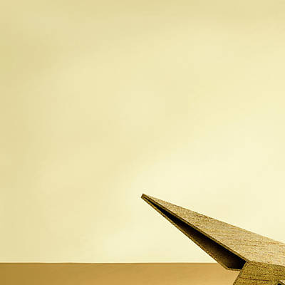 Airplane Photograph - Paper Airplanes Of Wood 7-1 by YoPedro