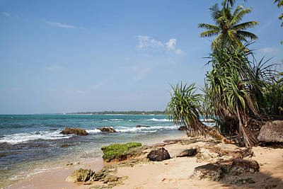 Nature Photograph - Paradise Beach In Sri Lanka by Regina Koch
