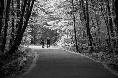 New To Vintage Photograph - Path To Friendship by Karol Livote