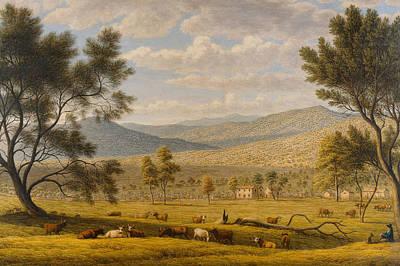 Patterdale Farm Print by John Glover