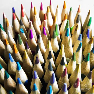 Pencils Print by Bernard Jaubert