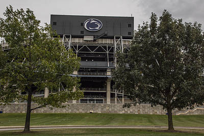 Penn State University Photograph - Penn State Beaver Stadium  by John McGraw