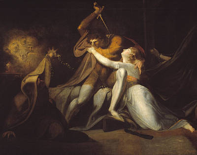 Delivering Painting - Percival Delivering Belisane From The Enchantment Of Urma by Henry Fuseli