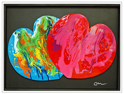 Painting - Perfect Couple by Mac Worthington