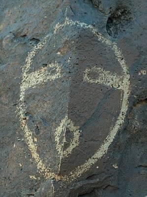 Hopi Drawing - Petroglyph Series 5 by Tim McCarthy