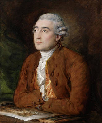 Royal Painting - Philippe Jacques De Loutherbourg by Thomas Gainsborough