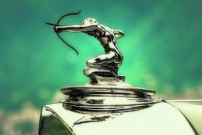 Pierce Arrow Mascot Print by Duschan Tomic