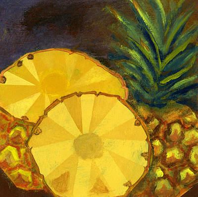 Pineapple Mixed Media - Pineapples by Sandra Cox