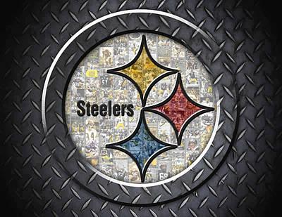 Pittsburgh Steelers Print by Fairchild Art Studio
