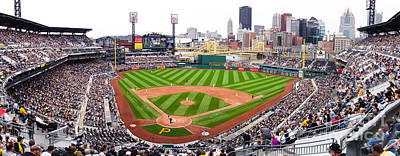 Pnc Park Pittsburgh Pennsylvania Print by Amy Cicconi
