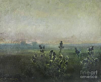 Botanical Painting - Polish Thistles by Jan Stanislawski