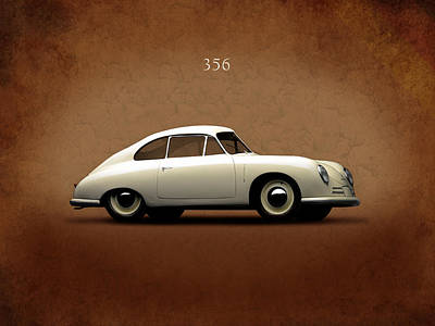 Motor Sports Photograph - Porsche 356 by Mark Rogan