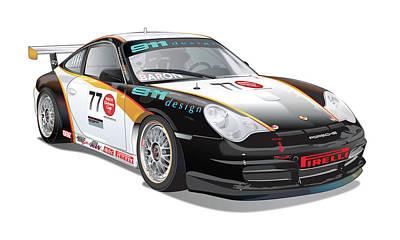 Porsche 996 Gt3 Cup Original by Alain Jamar
