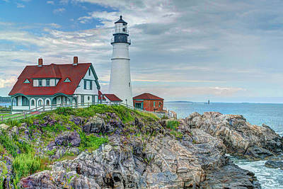Portland Head Lighthouse Print by Joe Granita