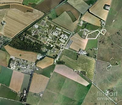 Porton Down, Aerial Photograph Print by Getmapping plc