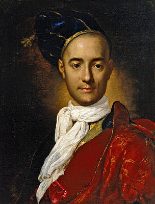 Painting - Portrait Of A Young Nobleman by Fra Galgario