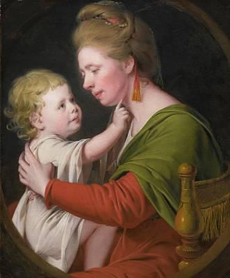 Darwin Painting - Portrait Of Jane Darwin  by Joseph Wright
