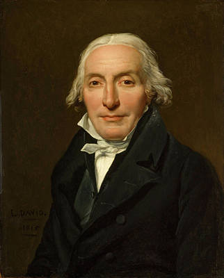 Jacques-louis David Painting - Portrait Of Jean-pierre Delahaye by Jacques-Louis David