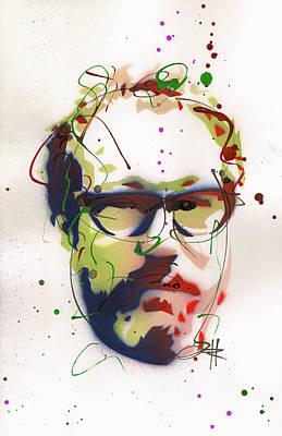 Portrait Of Julian Schnabel Original by Ryan  Hopkins