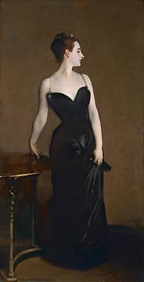 Tiara Painting - Portrait Of Madame Gautreau by John Singer Sargent