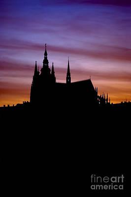 Cityspace Photograph - Prague Castle by Michal Boubin