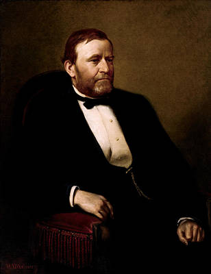 Army Painting - President Ulysses Grant by War Is Hell Store