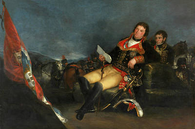 Sitting Painting - Prince Of The Peace by Francisco Goya