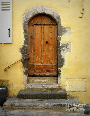 Provence Door Number 6 Print by Lainie Wrightson
