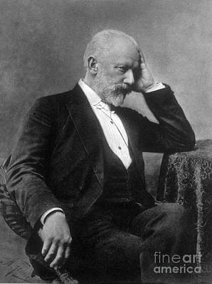 Pyotr Ilyich Tchaikovsky, Russian Print by Science Source